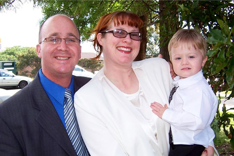 Missionary Mark Tossell Family