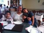 Avila kiddos w/ Grandma Angelica