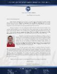 Brian George Prayer Letter:  Moving Forward