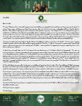 Baraka Hall Prayer letter:  Our New Journey