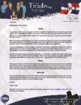 Robert Tirado Prayer Letter:  Fourth Anniversary Services