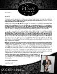 Jerry Wyatt III Prayer Letter:  Many Special Sundays!