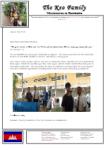 Kounaro Keo Prayer Letter:  Young Couple Saved and Baptized