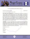 Angel Lopez Prayer Letter:  New Work in Santa Catarina Pinula