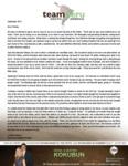 Daniel Kokubun Prayer Letter:  Living the Dream