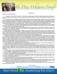 Dave Whitmore Prayer Letter:  Joy Unspeakable and Full of Glory