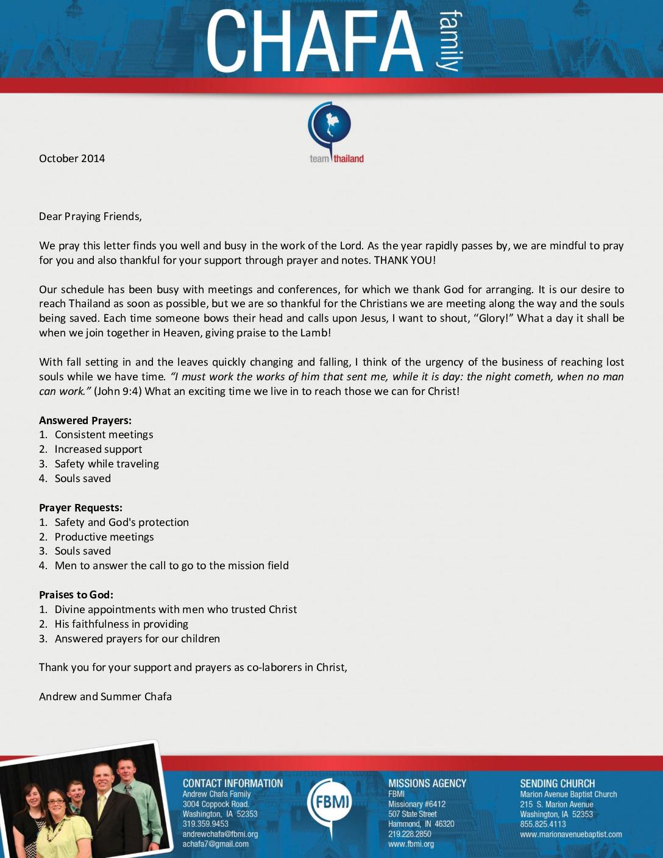 thumbnail of Andrew Chafa October 2014 Prayer Letter