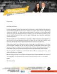 Christopher Pattison Prayer Letter:  Financial Blessings