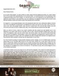 Ezequiel Martinez Prayer Letter:  Baptismal Service for Church in Surco
