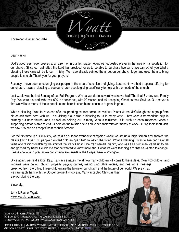 thumbnail of Jerry Wyatt III Nov-Dec 2014 Prayer Letter
