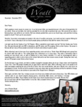 Jerry Wyatt III Prayer Letter:  Special Days With Visiting Pastor