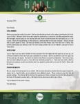 Baraka Hall Prayer Letter:  Vessels