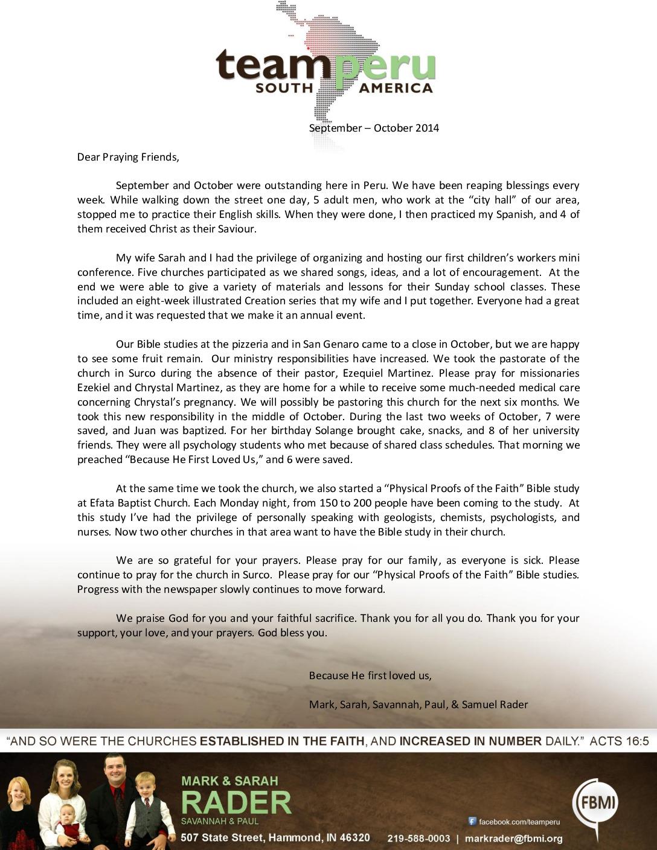 thumbnail of Mark Rader Sep-Oct 2014 Prayer Letter