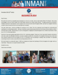 Chad Inman Prayer Letter:  Blessings in 2014