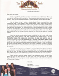 Ron Back Prayer Letter:  Nine Months on the Field Already!