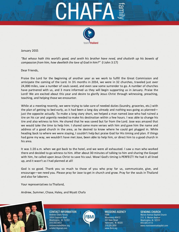 thumbnail of Andrew Chafa January 2015 Prayer Letter