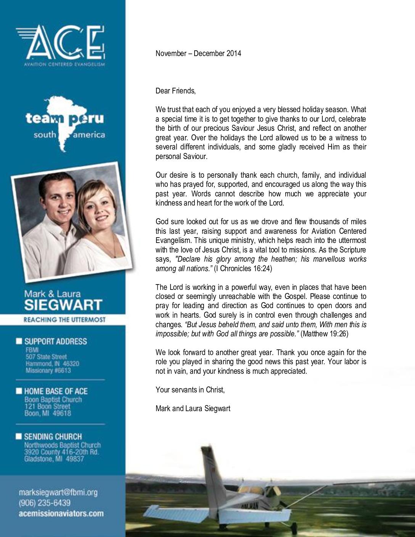 thumbnail of Mark Siegwart Nov-Dec 2014 Prayer Letter