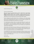 Micah Christiansen Prayer Letter:  Abbie's Christmas Blessing