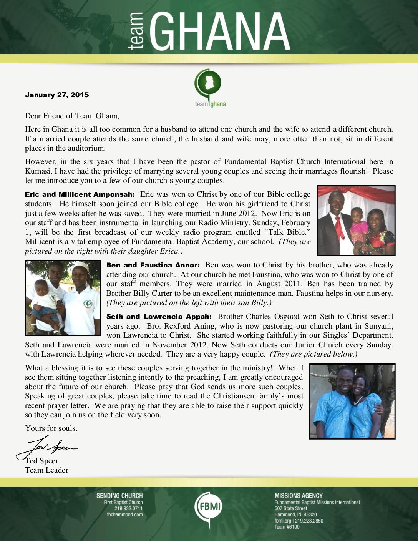thumbnail of Team Ghana January 2015 Update