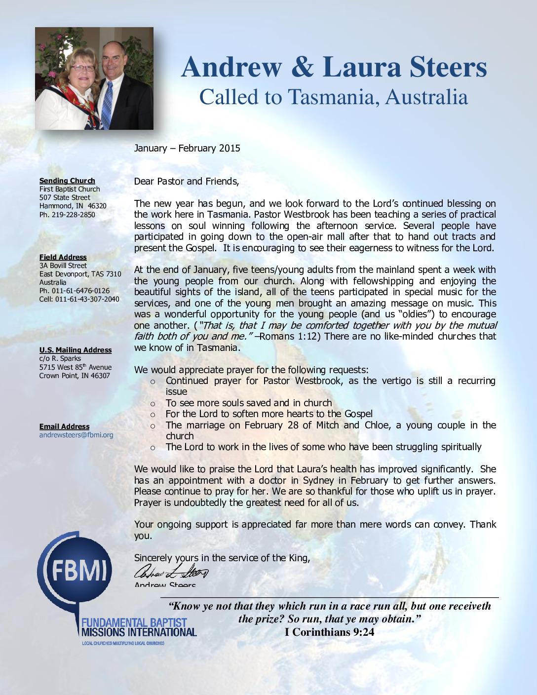 thumbnail of Andrew Steers Jan-Feb 2015 Prayer Letter