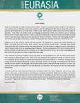 Missionary #6501 Prayer Letter:  Eurasia Update