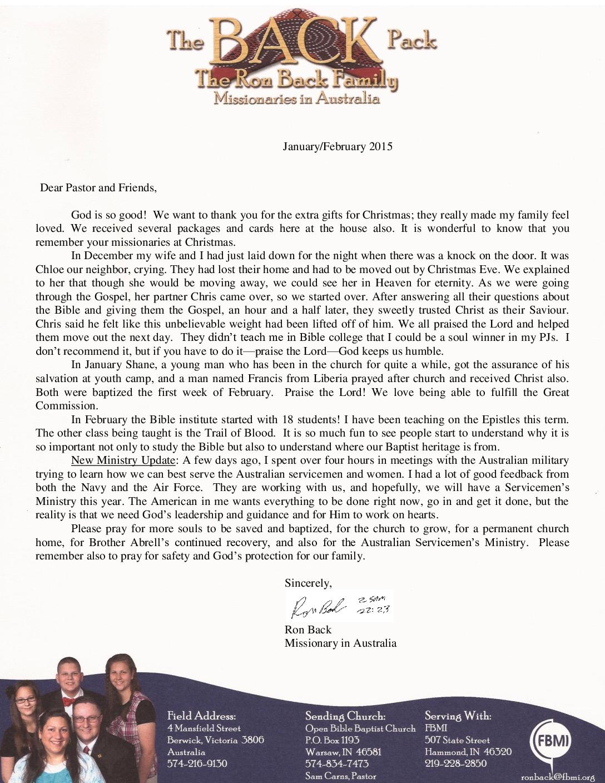 thumbnail of Ron Back Jan-Feb 2015 Prayer Letter
