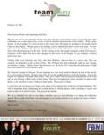 Zach Foust Prayer Letter:  Second Anniversary Service