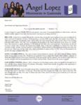 Angel Lopez Prayer Letter:  Pastoring From Prison