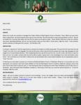 Baraka Hall Prayer Letter:  High Five, God!
