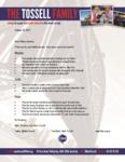 Mark Tossell Prayer Letter:  Our Son Adam Baptized