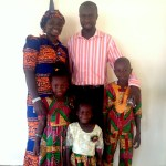 Pastor Richard Buoh and family