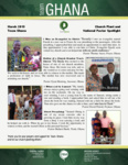 Team Ghana National Pastor Update: An Appointment with Evangelist Enoch