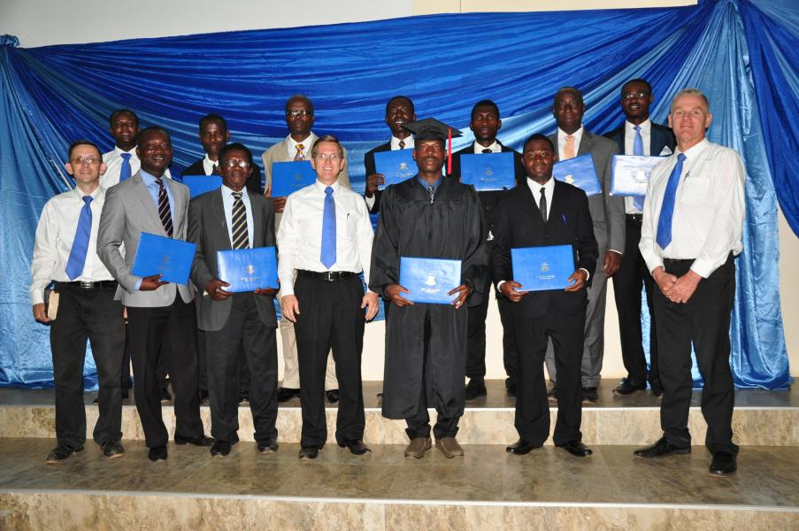 March 2015 Graduates of Hyles-Anderson College of West Africa
