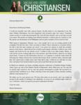 Micah Christiansen Prayer Letter:  Special Prayer Request