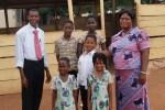 Pastor David Pentsil and Family