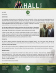 Baraka Hall Prayer Letter:  Friends