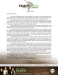 Mark Rader Prayer Letter:  Second-Anniversary Sunday