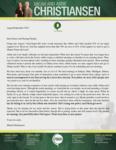 Micah Christiansen Prayer Letter:  Passed a Support-Level Mile Marker!