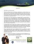 Wes Palla Prayer Letter:  From Mexico to the Amazon