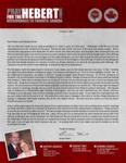 Brian Hebert Prayer Letter:  Beyond Expectations