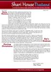 Shari House Prayer Letter:  Ministry Milestones