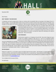 Baraka Hall Prayer Letter:  God Giving the Increase