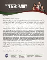 Christopher Yetzer Prayer Letter:  The Usefulness of the Internet