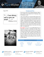 John Hays Prayer Letter: I Was Thirsty!