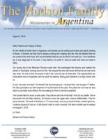 Simeon Hudson Prayer Letter:  Seeking Opportunities