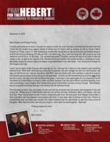 Brian Hebert Prayer Letter:  So Many New Things!