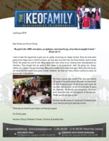 Kounaro Keo Prayer Letter:  A Young Man Gives His Life to the Lord