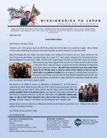 Go Oishi Prayer Letter:  Cannot Wait to Return!