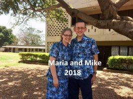 Mike and Maria Sarver 2018
