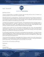 Parish Javier Prayer Letter:  19th Church Anniversary